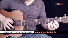Spicing Up Your Chords 3 - a FretHub online guitar lesson, with Nick Radcliffe