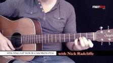 Spicing Up Your Chords 6 - a FretHub online guitar lesson, with Nick Radcliffe