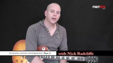 Playing With Inversions 3 - a FretHub online guitar lesson, with Nick Radcliffe
