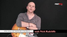 Spicing Up Minor Chords - a FretHub online guitar lesson, with Nick Radcliffe