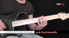 Playing With Octaves 1 - a FretHub online guitar lesson, with Nick Radcliffe