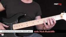 Harmonising Using 3rds pt 2 - a FretHub online guitar lesson, with Nick Radcliffe