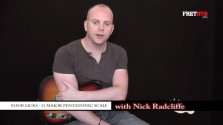 Four Licks - G Major Pentatonic - a FretHub online guitar lesson, with Nick Radcliffe