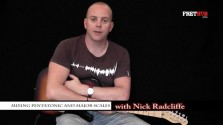 Mixing Pentatonic and Major Scales - a FretHub online guitar lesson, with Nick Radcliffe