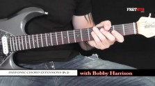 Diatonic Chord Extensions - Part 2 - a FretHub online guitar lesson, with Bobby Harrison