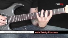 Diatonic Chord Extensions - Part 3 - a FretHub online guitar lesson, with Bobby Harrison