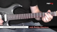 Diatonic Chord Extensions - Part 4 - a FretHub online guitar lesson, with Bobby Harrison