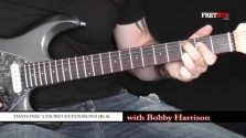 Diatonic Chord Extensions - Part 5 - a FretHub online guitar lesson, with Bobby Harrison