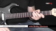 Diatonic Chord Extensions - Part 6 - a FretHub online guitar lesson, with Bobby Harrison