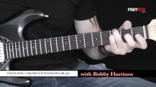 Diatonic Chord Extensions - Part 11 - a FretHub online guitar lesson, with Bobby Harrison