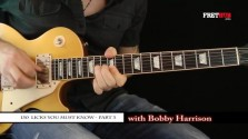 150 Rock Licks - Part 3 - a FretHub online guitar lesson, with Bobby Harrison