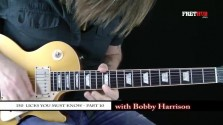 150 Rock Licks - Part 10 - a FretHub online guitar lesson, with Bobby Harrison