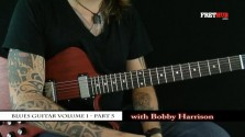 Blues Guitar part 5 - a FretHub online guitar lesson, with Bobby Harrison