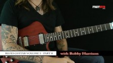 Blues Guitar part 8 - a FretHub online guitar lesson, with Bobby Harrison