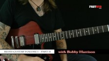 Blues Guitar part 11 - a FretHub online guitar lesson, with Bobby Harrison