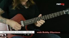Blues Guitar part 12 - a FretHub online guitar lesson, with Bobby Harrison