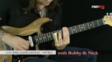 Slide Guitar Intro - a FretHub online guitar lesson, with Bobby Harrison