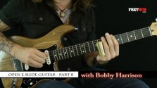 Slide: Open E part 8 - a FretHub online guitar lesson, with Bobby Harrison
