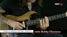 Slide: Open E part 9 - a FretHub online guitar lesson, with Bobby Harrison