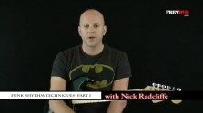 Funk Rhythm Guitar - part 1 - a FretHub online guitar lesson, with Nick Radcliffe
