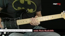 Funk Rhythm Guitar - part 3 - a FretHub online guitar lesson, with Nick Radcliffe