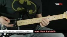 Funk Rhythm Guitar - part 7 - a FretHub online guitar lesson, with Nick Radcliffe