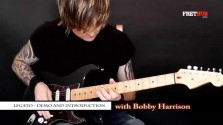 Legato - Demo & Introduction - a FretHub online guitar lesson, with Bobby Harrison