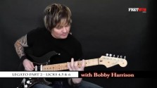 Legato - Part 2 - a FretHub online guitar lesson, with Bobby Harrison