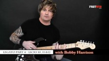 Legato - Part 4 - a FretHub online guitar lesson, with Bobby Harrison