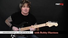 Legato - Part 6 - a FretHub online guitar lesson, with Bobby Harrison