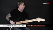 Legato - Part 8 - a FretHub online guitar lesson, with Bobby Harrison