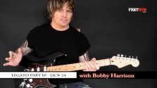 Legato - Part 10 - a FretHub online guitar lesson, with Bobby Harrison