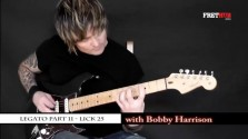 Legato - Part 11 - a FretHub online guitar lesson, with Bobby Harrison
