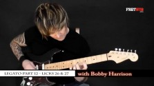 Legato - Part 12 - a FretHub online guitar lesson, with Bobby Harrison
