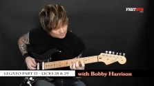Legato - Part 13 - a FretHub online guitar lesson, with Bobby Harrison