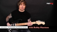 Legato - Part 14 - a FretHub online guitar lesson, with Bobby Harrison