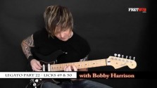 Legato - Part 22 - a FretHub online guitar lesson, with Bobby Harrison