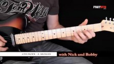 Sixth Mode - A Aeolian - a FretHub online guitar lesson, with Nick Radcliffe and Bobby Harrison