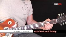 Seventh Mode - B Locrian - a FretHub online guitar lesson, with Nick Radcliffe and Bobby Harrison