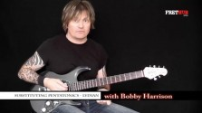 Substituting Pentatonics - Lydian - a FretHub online guitar lesson, with Bobby Harrison