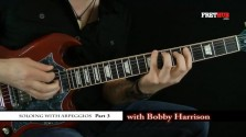 Soloing With Arpeggios - Part 3 - a FretHub online guitar lesson, with Bobby Harrison
