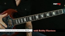 Soloing With Arpeggios - Part 6 - a FretHub online guitar lesson, with Bobby Harrison