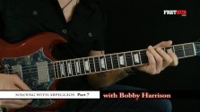 Soloing With Arpeggios - Part 7 - a FretHub online guitar lesson, with Bobby Harrison
