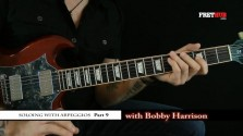 Soloing With Arpeggios - Part 9 - a FretHub online guitar lesson, with Bobby Harrison