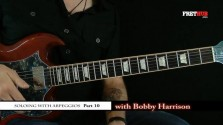 Soloing With Arpeggios - Part 10 - a FretHub online guitar lesson, with Bobby Harrison