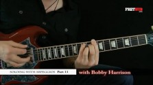 Soloing With Arpeggios - Part 11 - a FretHub online guitar lesson, with Bobby Harrison