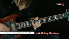 Soloing With Arpeggios - Part 29 - a FretHub online guitar lesson, with Bobby Harrison