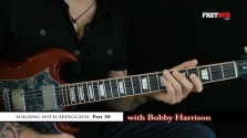 Soloing With Arpeggios - Part 30 - a FretHub online guitar lesson, with Bobby Harrison