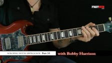 Soloing With Arpeggios - Part 32 - a FretHub online guitar lesson, with Bobby Harrison