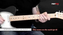 The Notes On The Neck - Part 4 - a FretHub online guitar lesson, with Bobby Harrison
